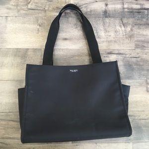 Kate Spade nylon diaper bag/tote bag, black large